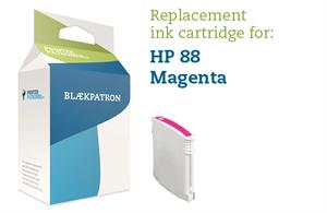 Image of   Magenta blækpatron - HP nr. 88 - 24 ml.