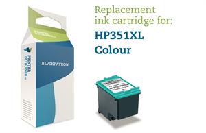 Image of   3-i-en farve blækpatron - HP nr.351 xl - 22ml