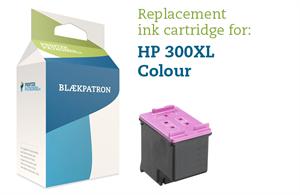Image of   3-i-en farve blækpatron - HP nr.300 xl - 18ml