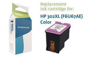 Image of   3-i-en farve blækpatron - HP nr.302XL - 16ml