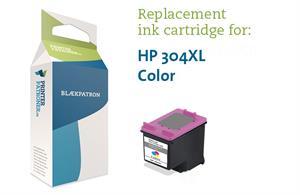 Image of   3-i-en farve blækpatron - HP nr.304XL - 480 sider