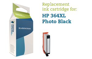 Image of   Photo sort blækpatron - HP nr.364 PBXL - 5ml.