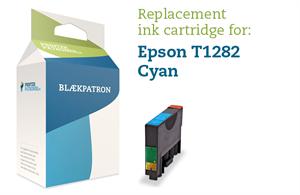 Image of   Cyan blækpatron T1282 - Epson - 6,5ml