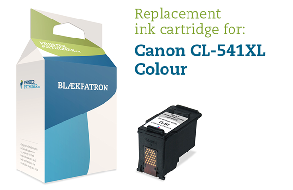 Image of 3-i-en farve blækpatron - Canon nr.CL-541XL - 16 ml