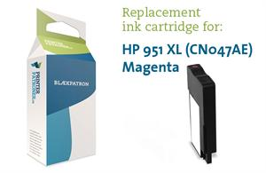 Magenta blækpatron - hp nr.951 xl - 1.500 sider