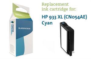 Image of   Cyan blækpatron - HP nr.933XL - 825 sider