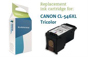 Image of   3-i-en farve blækpatron - Canon nr.546XL - 15ml