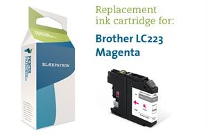 Magenta blækpatron - Brother LC-223M - 6 ml