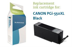 Image of   Sort blækpatron 550PGBK XL - Canon PGI-550PGBK - 22ml
