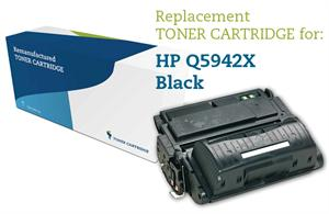 Image of   Sort lasertoner - HP nr.42 X - 20.000 sider