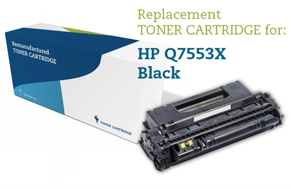 Image of   Sort lasertoner - HP nr.53 X - 7.000 sider