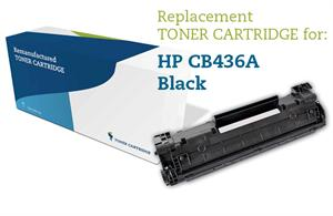 Image of   Sort lasertoner - HP nr.36 A - 2.000 sider