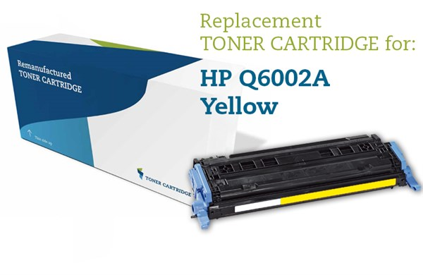 Image of   Gul lasertoner - HP Q6002A / Canon 707Y - 2.000 sider