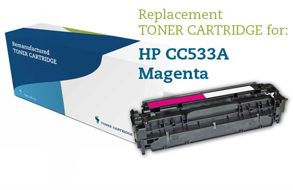 Image of   Magenta lasertoner - HP CC533A / Canon 718 - 2.800 sider