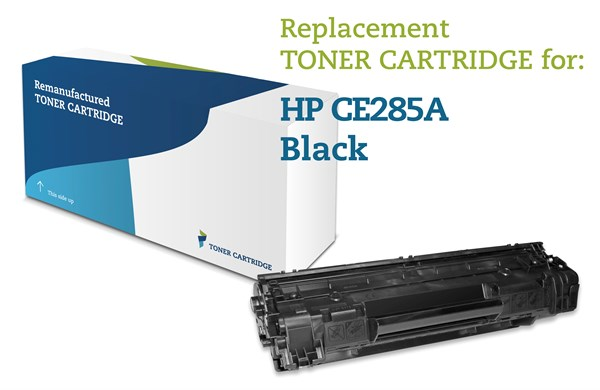 Image of   Sort lasertoner - HP Nr.85A - 1.600 sider