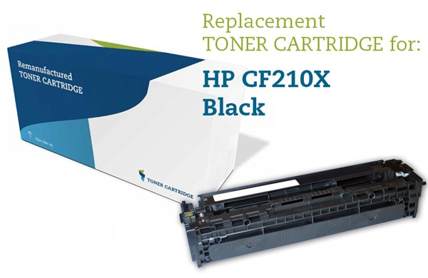Image of   Sort lasertoner - HP nr.131X - 2.400 sider