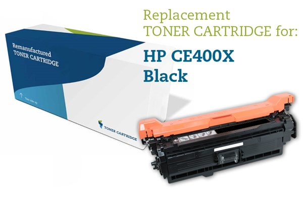 Image of   Sort lasertoner - HP 507X - 11.000 sider