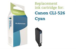 Image of   Cyan blækpatron - Canon CLI-526C - 9ml