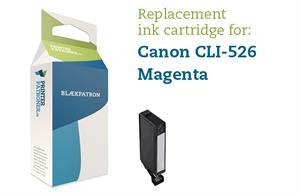 Image of   Magenta blækpatron - Canon CLI-526M - 9ml