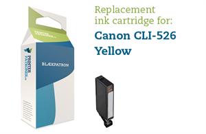Image of   Gul blækpatron - Canon CLI-526Y - 9ml