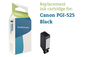 Photo sort blækpatron - Canon PGI-525PGBK - 19ml
