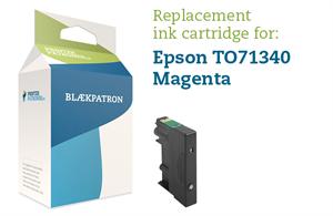 N/A – Magenta blækpatron - epson t0713/893 - 9ml. på printerpatroner.dk