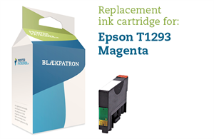 Image of   Magenta blækpatron T1293 - Epson - 10 ml