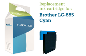 Cyan blækpatron 985C - Brother - 6ml