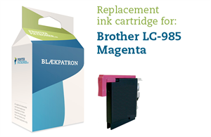Magenta blækpatron 985M - Brother - 6ml