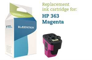 Image of   Magenta blækpatron - HP nr.363 M - 12ml