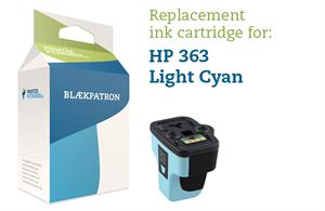 Light cyan blækpatron - HP nr.363 LC - 12ml