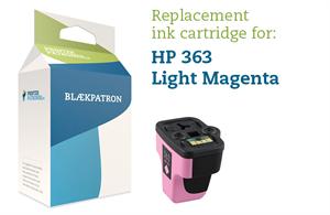 Light magenta blækpatron - hp nr.363 lm - 12ml