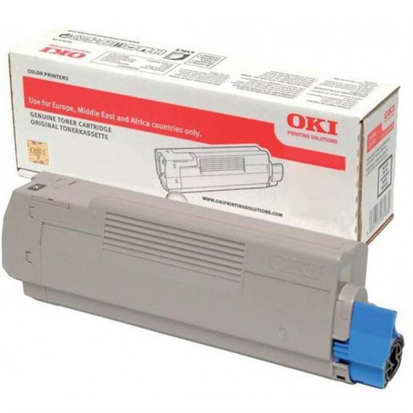 Image of   Sort lasertoner - OKI 46490404 - 1.500 sider