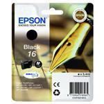 Sort blækpatron nr.16 - Epson 16 - 5,4 ml