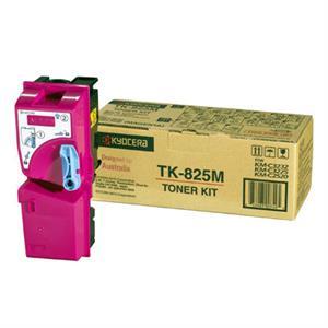 Magenta lasertoner TK-825 - Kyocera - 7.000 sider