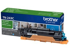 Image of   Cyan lasertoner - Brother TN243C - 1000 sider