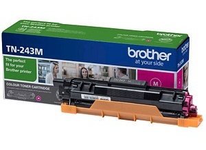 Magenta lasertoner - Brother TN243M - 1000 sider
