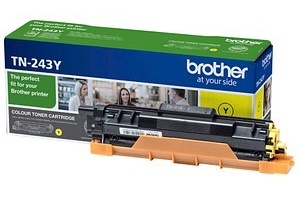 Image of   Gul lasertoner - Brother TN243Y - 1000 sider