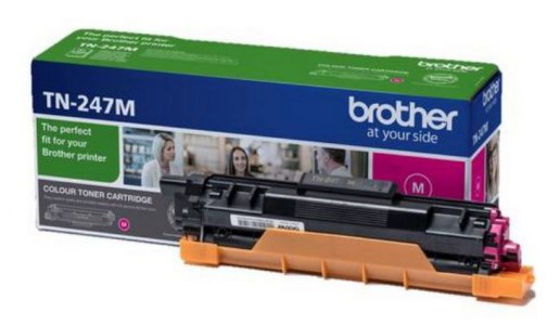 Image of   Magenta lasertoner - Brother TN247M - 2300 sider