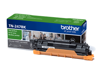 Sort lasertoner - Brother TN247BK - 3000 sider