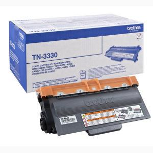 Sort lasertoner - Brother 3330 - 3.000 sider