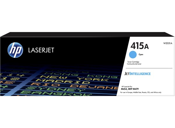 Image of   Cyan lasertoner - HP W2031A - 2.100 sider