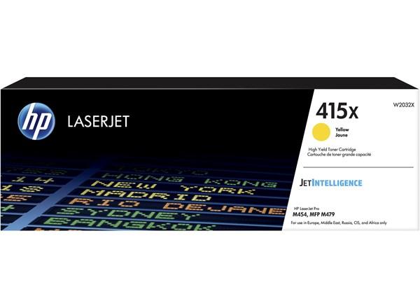 Image of   Gul lasertoner - HP W2032X - 6.000 sider
