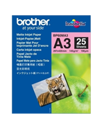 Brother Mat Fotopapir A3 - Brother. 145Gr. - 25 Ark Papir
