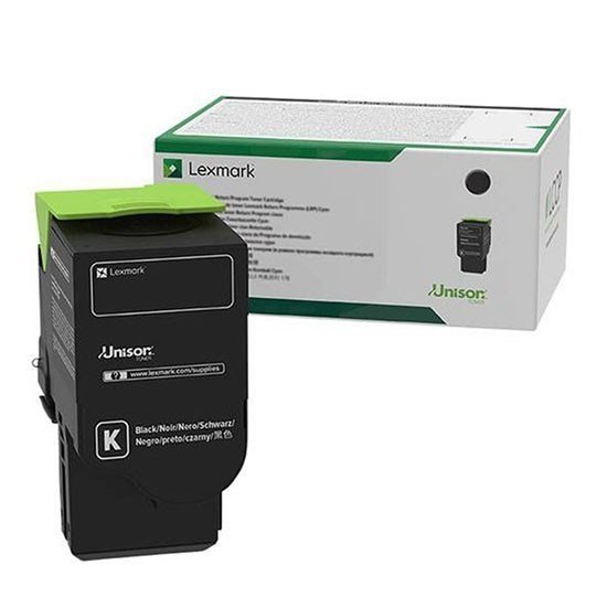 Image of   Sort lasertoner - Lexmark C252UK0 - 8.000 sider