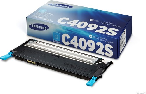 Image of   Cyan lasertoner - Samsung C4092 - 1.000 sider