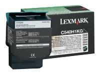 Image of   Sort lasertoner C540H - Lexmark - 2.500 sider