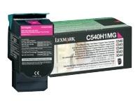Magenta lasertoner C540H - Lexmark - 2.000 sider