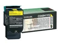 Gul lasertoner C540H - Lexmark - 2.000 sider