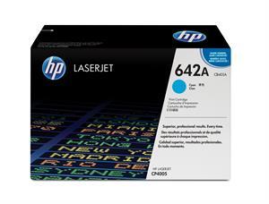 Cyan lasertoner - HP nr.642A - 7.500 sider